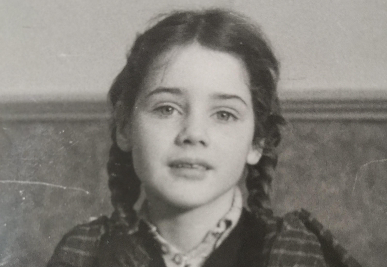 Zina as a child