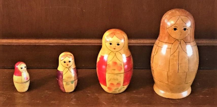Uma's Russian Dolls